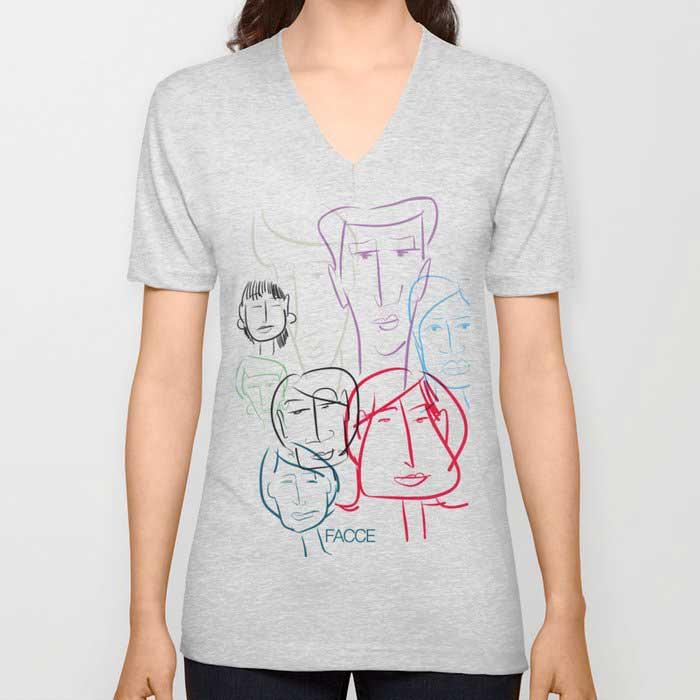 facce-vneck-tshirts